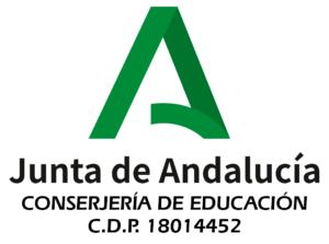 Logo de la Junta de Andalucía para ITGranada de la conserjería de educación